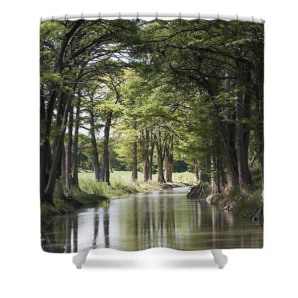 Medina River Shower Curtain