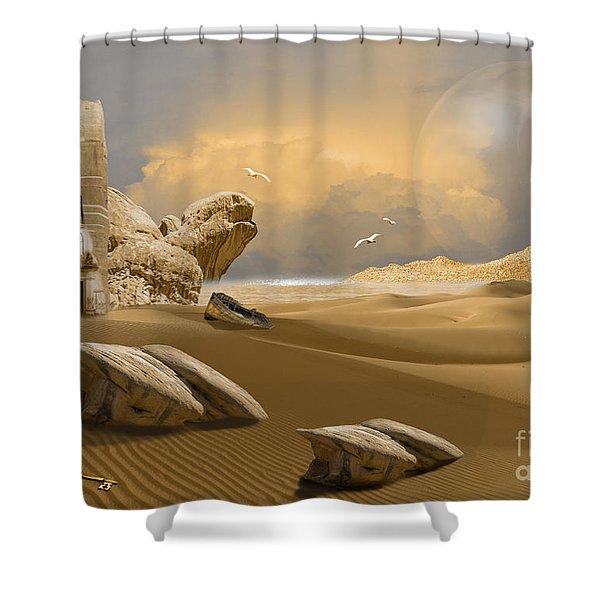 Meditation Place Shower Curtain