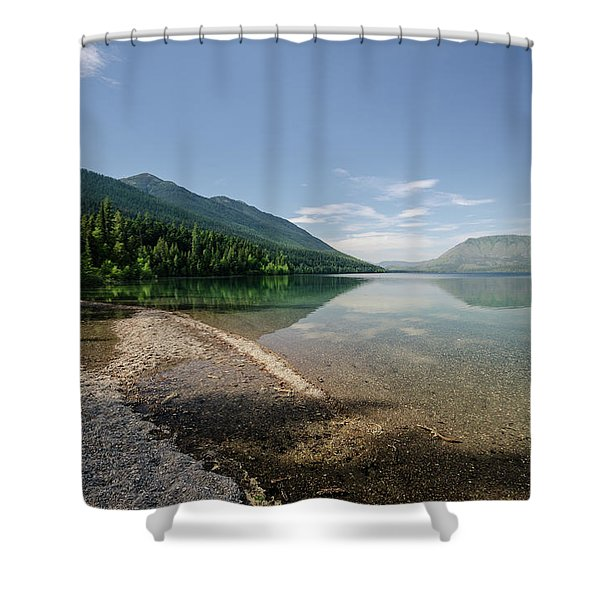 Meditative Mood Shower Curtain