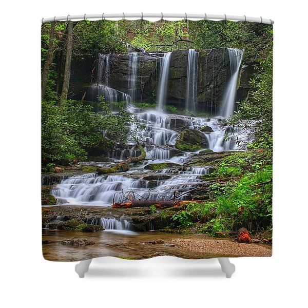 Meet Virginia...in South Carolina Shower Curtain