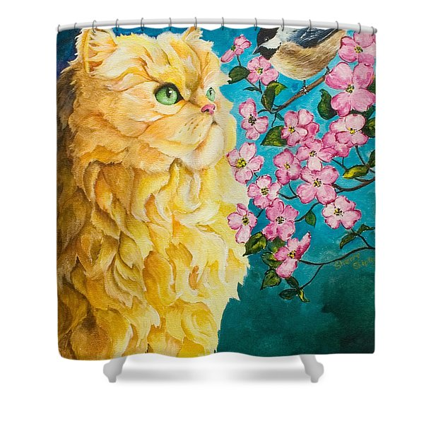 Meeting Eye To Eye Shower Curtain