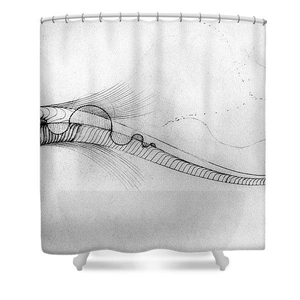 Megic Fish 2 Shower Curtain