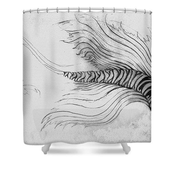Megic Fish 3 Shower Curtain