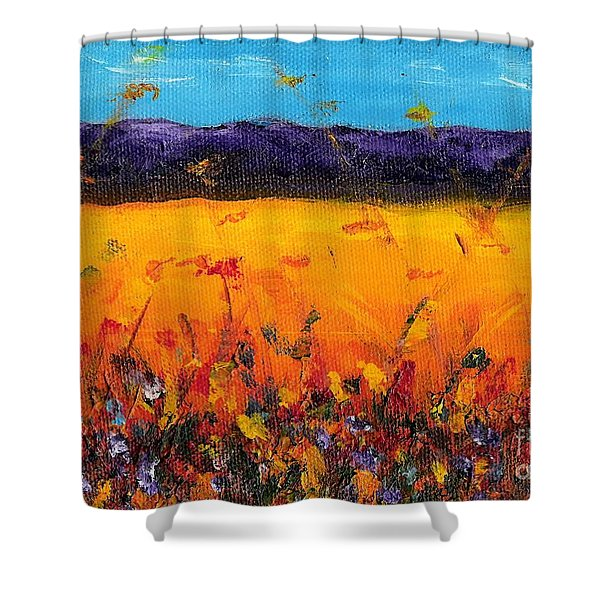 Melissa's Meadow Shower Curtain