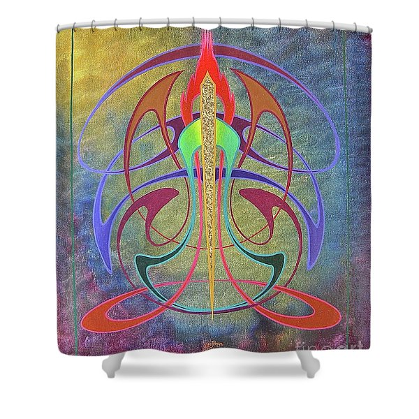 Mellow New Vo Shower Curtain
