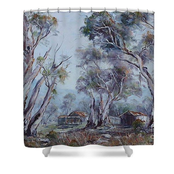 Melrose, South Australia Shower Curtain