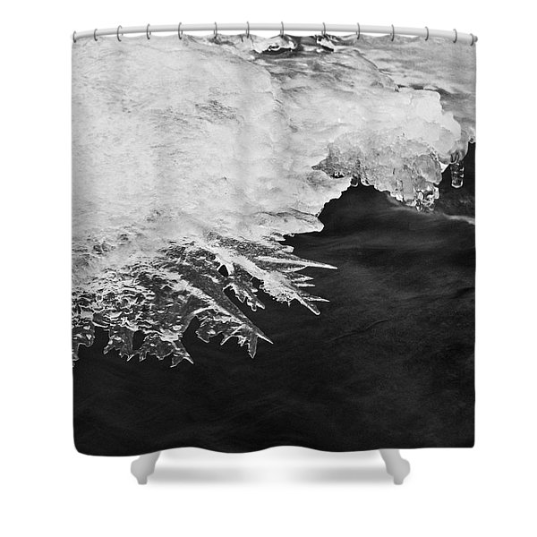 Melting Creek Shower Curtain