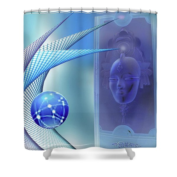 Memorial For A Poet Shower Curtain