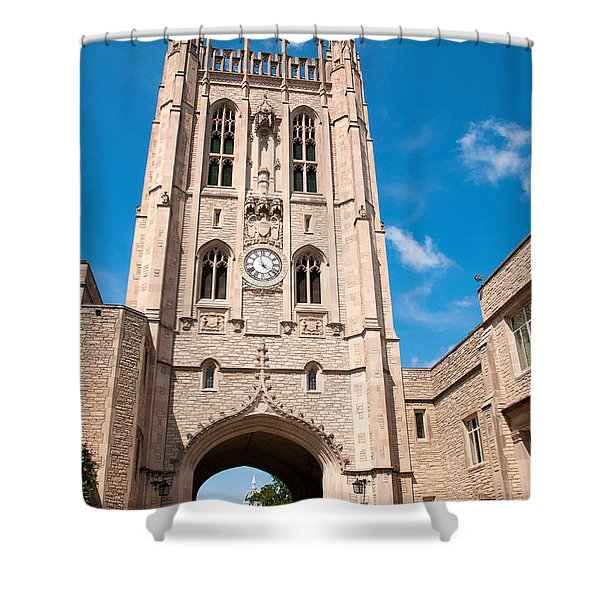 Memorial Union Mizzou Shower Curtain