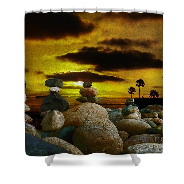 Memories In The Twilight Shower Curtain