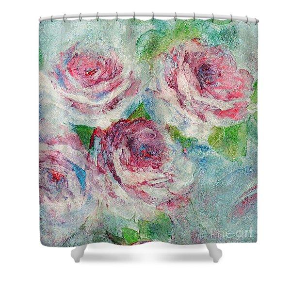 Memories Of Roses Shower Curtain