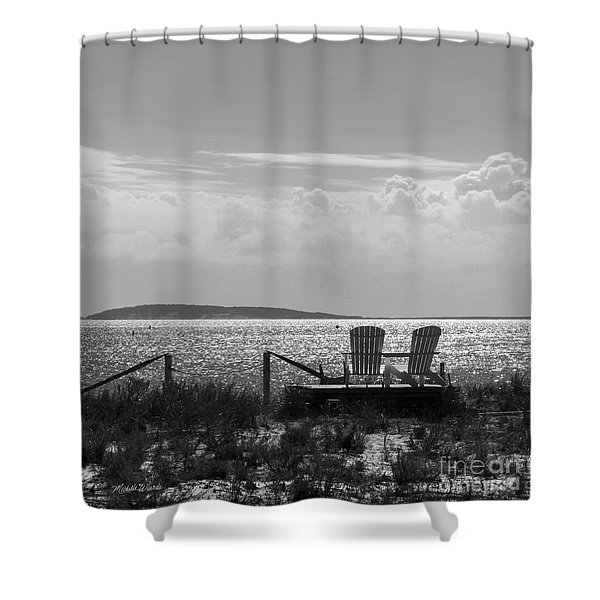 Memories Of The Cape Shower Curtain