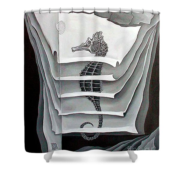 Memory Layers Shower Curtain