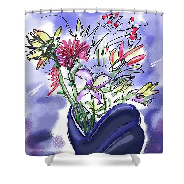 Memory Of Spring Shower Curtain