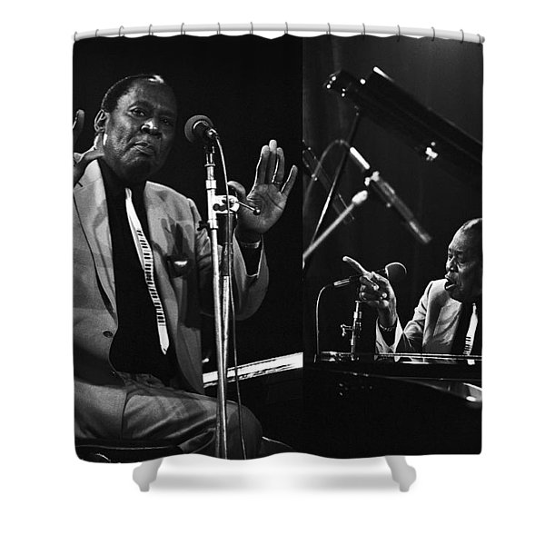 Memphis Slim Shower Curtain