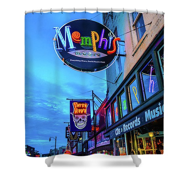 Memphis Soul Shower Curtain