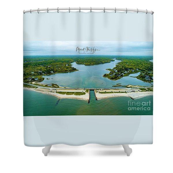 Menauhant Beach Shower Curtain