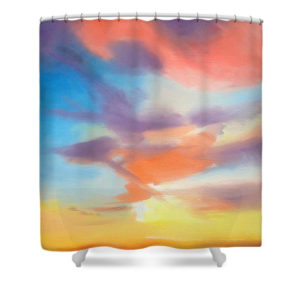 Mendelssohn Symphony #4 Shower Curtain