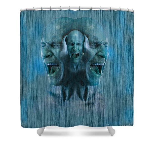 Mental Illness Shower Curtain