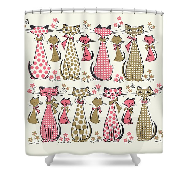Meow... Shower Curtain