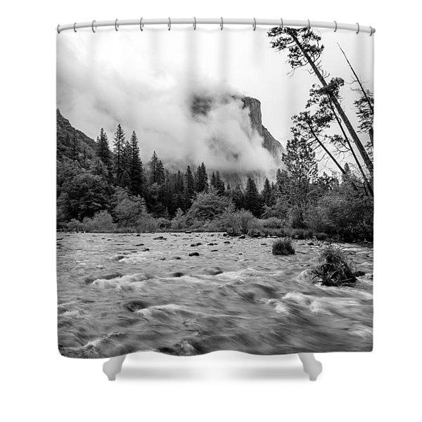 Merced River Shower Curtain