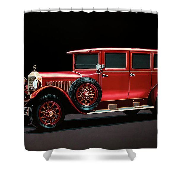 Mercedes-benz Typ 300 Pullman Limousine 1926 Painting Shower Curtain