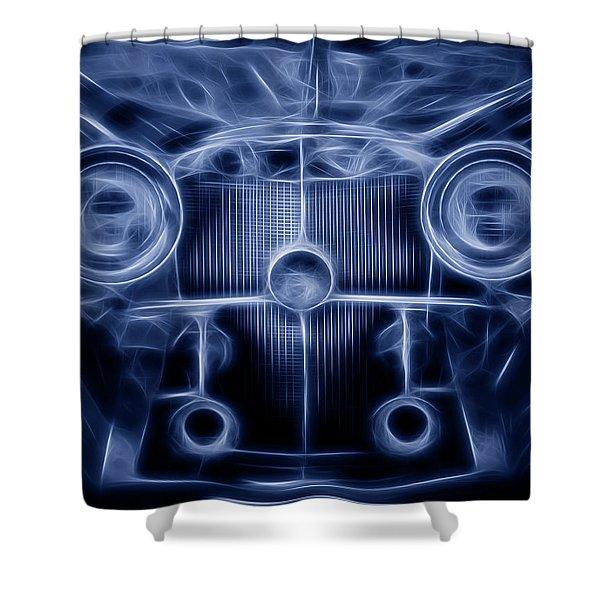 Mercedes Roadster Shower Curtain