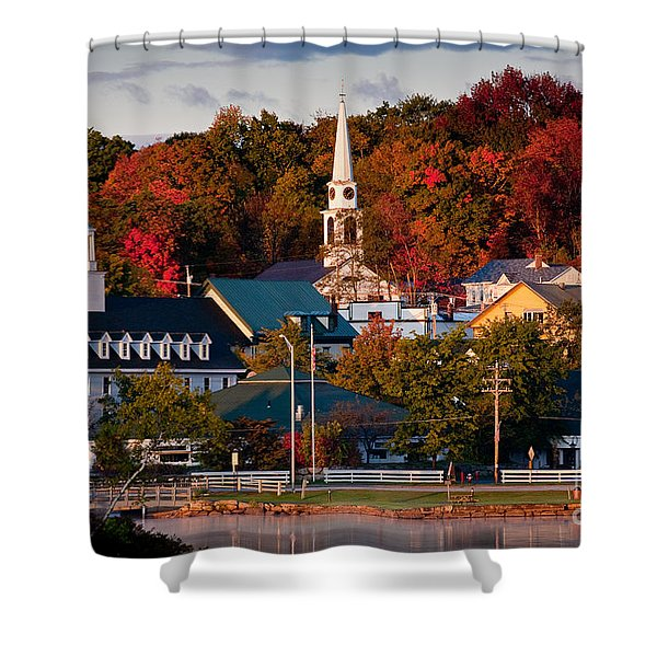 Meredith Sunrise Shower Curtain