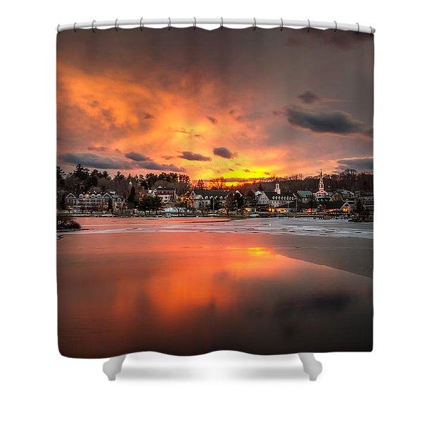 Meredith Sunset Shower Curtain
