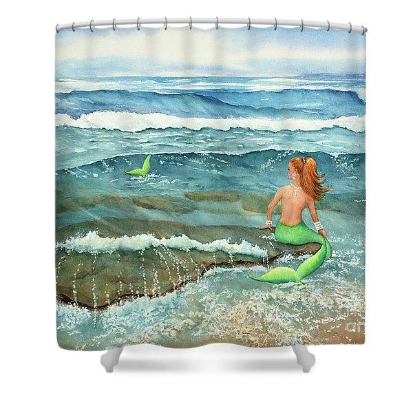 Mermomma Shower Curtain