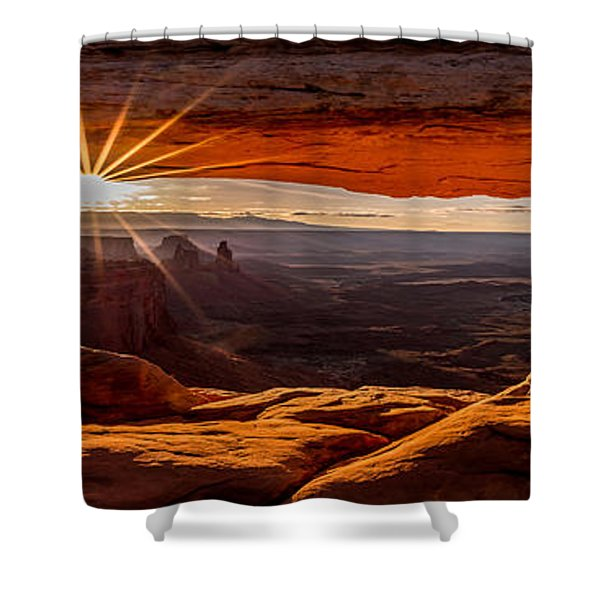 Mesa Arch Mornings Shower Curtain