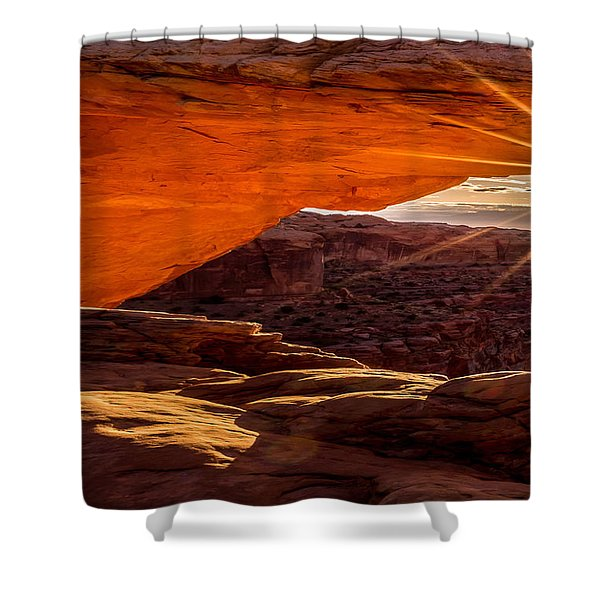 Mesa Arch Triptych Panel 1/3 Shower Curtain