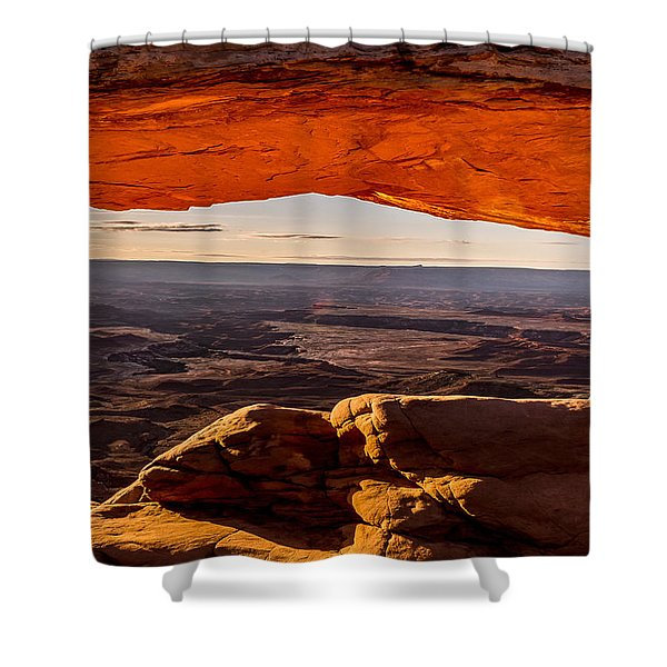 Mesa Arch Triptych Panel 3/3 Shower Curtain