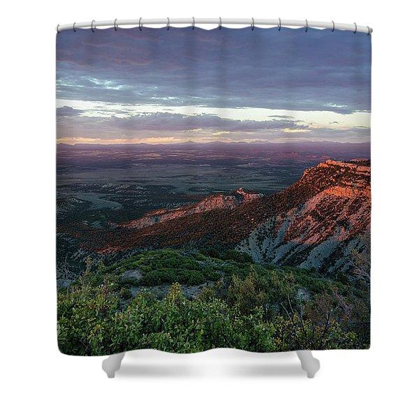 Mesa Verde Soft Light Shower Curtain