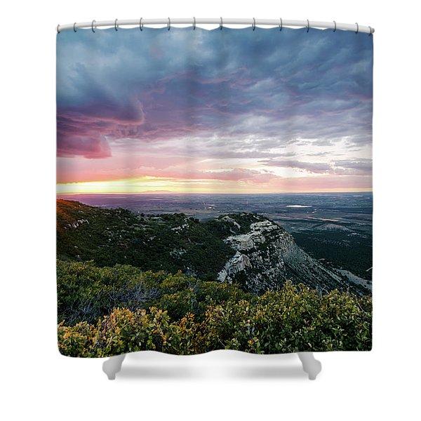 Mesa Verde Sunset Shower Curtain