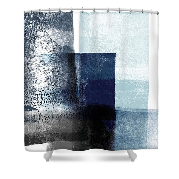 Mestro 4- Abstract Art By Linda Woods Shower Curtain