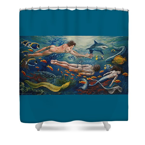 Metamorphosis Shower Curtain