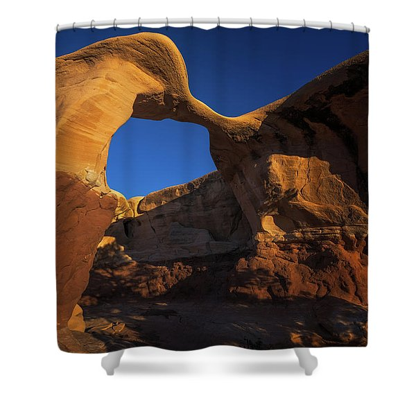 Metate Arch Shower Curtain