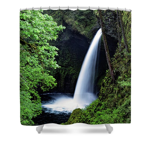 Metlako Falls Waterfall Art By Kaylyn Franks Shower Curtain