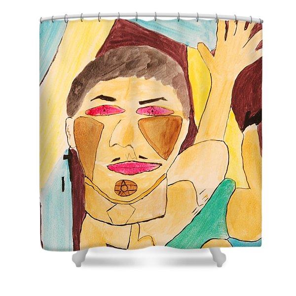 Metro Beauty Shower Curtain