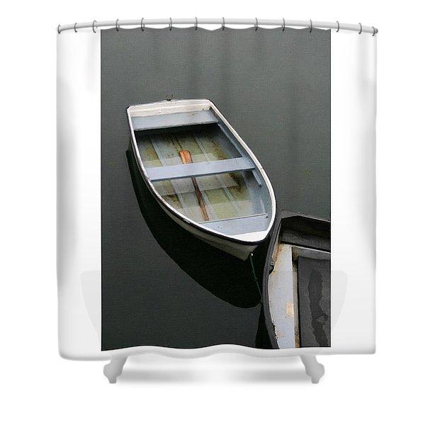 Mevagissy Boat Shower Curtain