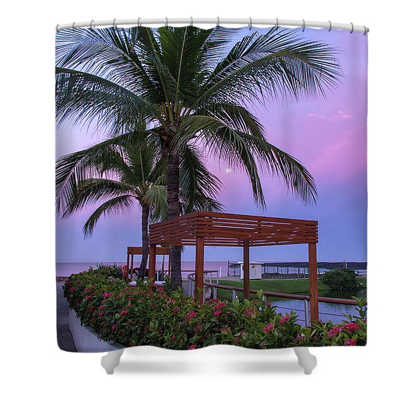Mexican Moonrise Mexican Art By Kaylyn Franks Shower Curtain