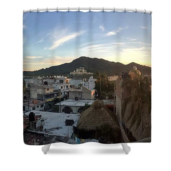 Mexico Memories 3 Shower Curtain