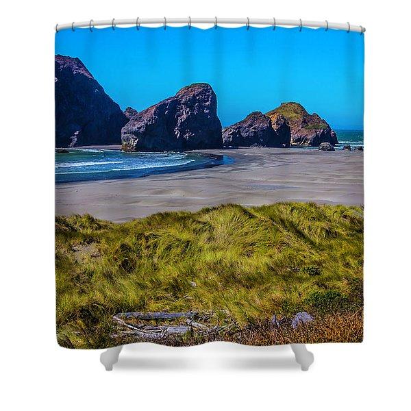 Meyers Creek Beach Shower Curtain