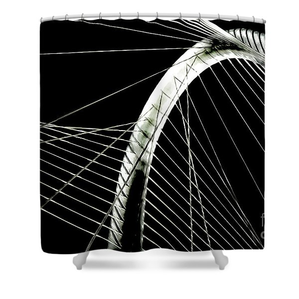 Mhhbridge Morning Fog Shower Curtain