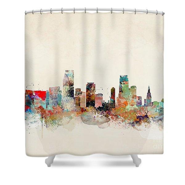 Miami Florida Shower Curtain