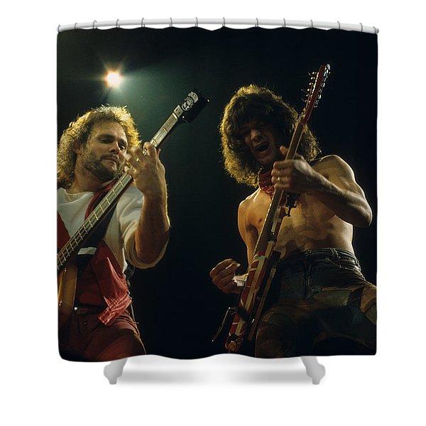 Michael And Eddie Shower Curtain