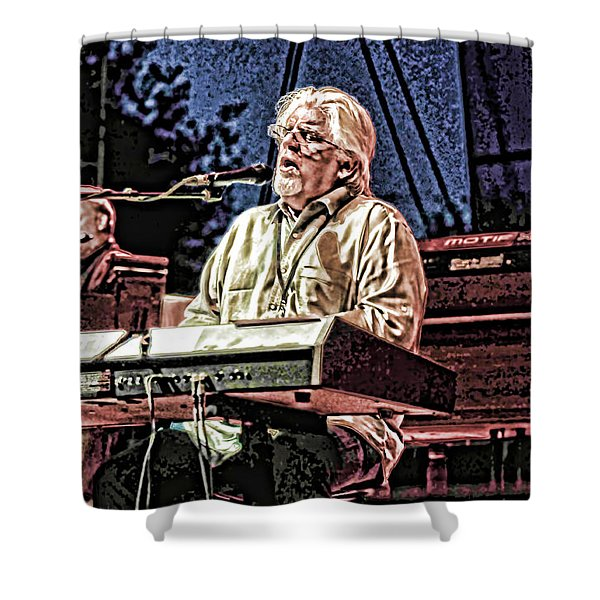 Michael Mcdonald And Band Shower Curtain