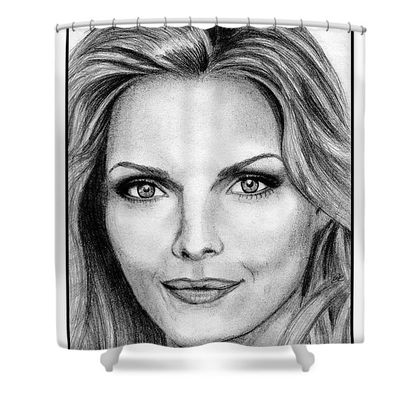 Michelle Pfeiffer In 2010 Shower Curtain