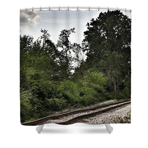 2003 - Michigan Rails I Shower Curtain